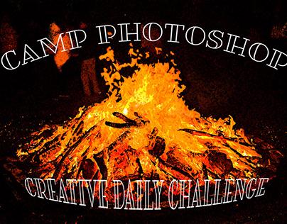 PSDailyChallenge - Camp Photoshop June 2019