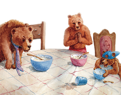 Picture book Goldilocks and the Three Bears