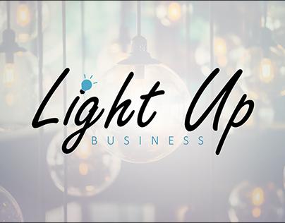 Criação logo Light Up