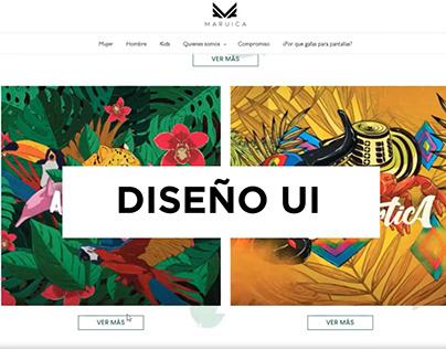 DISEÑO UI (Interfaz Web)