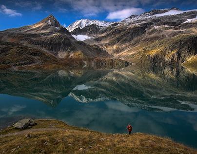 24 hours in Rudolfshütte. High Tauren. Alpen. Austria.