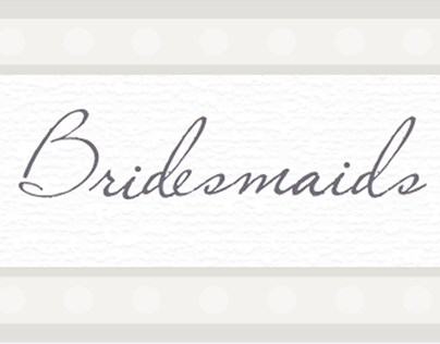 Wedding Designs - Bridesmaids Luncheon Email Banner