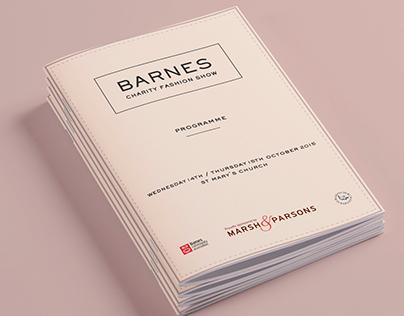 Barnes Fashion Show