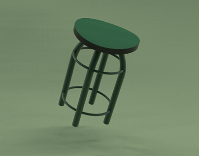 Stool for cafe