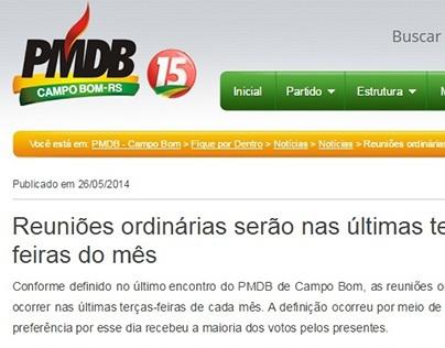 Social Media - PMDB Campo Bom