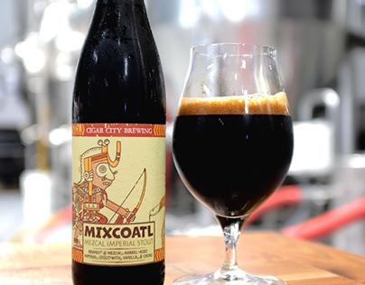 MIXCOATL - Mezcal Barrel-Aged Imperial Stout