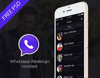 Whatsapp Redesign Concept