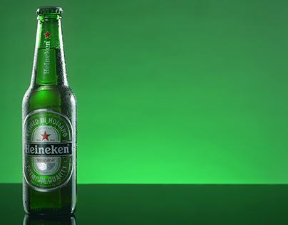 Heineken Product Photography