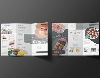 Macarons | Tri-fold Brochure Design