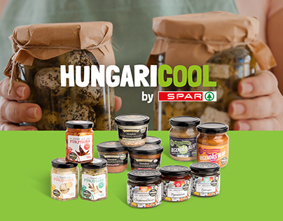 SPAR - Hungaricool package designs