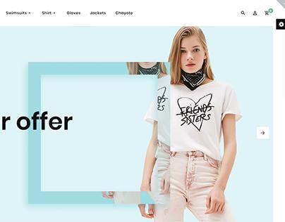 Parker Fashion Premium OpenCart Template #83802