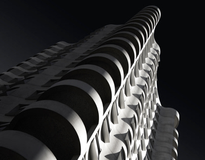 Residential B5 by Herzog & de Meuron, Lyon