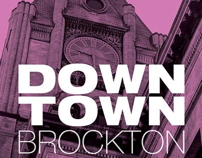 Downtown Brockton Banner