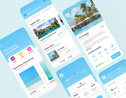 Hotel and Flight Ticket Booking - Mobile App