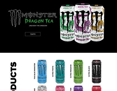 Redesign Website (Monster)