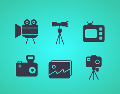 Image And Video Icons