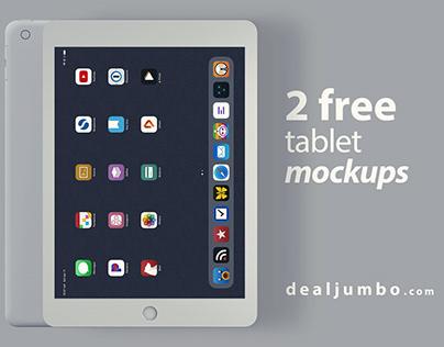 Tablet or iPad – Free Mockup