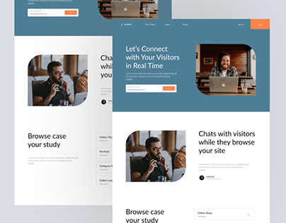 Landing Page Connect