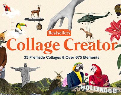 Bestsellers Collage Creator Pro By SNIPESCIENTIST