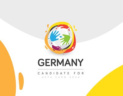 Germany EURO 2024 | Logo & Visual Identity