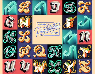 Alphabet for Lettera40