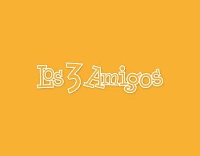 Los 3 Amigos - Diseño Editorial