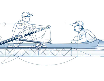 Sculling, a project for Lincoln automotive.