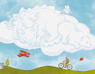 Red Kite Illustration