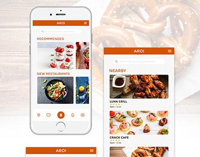Adobe XD Challenge #Day2 Book a Restaurant