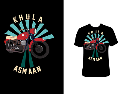 T Shirt - Illustration / Design - Khula Asmaan