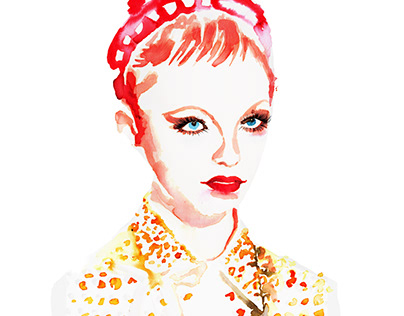 Prada SS19 Fashion Illustration