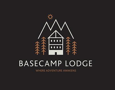 Basecamp Lodge branding