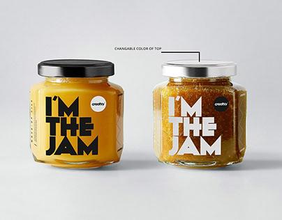 Jam Jar Mockups