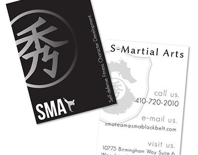 S-Martial Arts. Don't design graphics; design a brand.