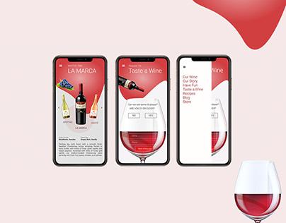 Interaction Design wine App
