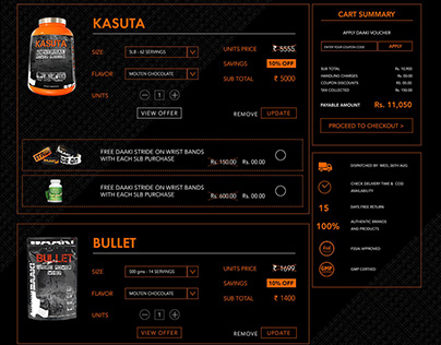 Daaki Product Page