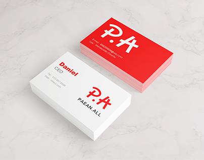 Paean.All - Visual Identity