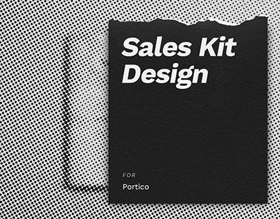 Portico Sales & Marketing Kit Design