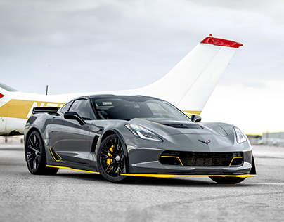 Nardo Grey Corvette Z06