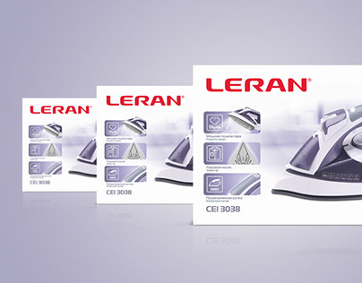 Leran — iron package design