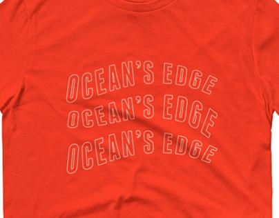 Ocean's Edge Tshirt Merch