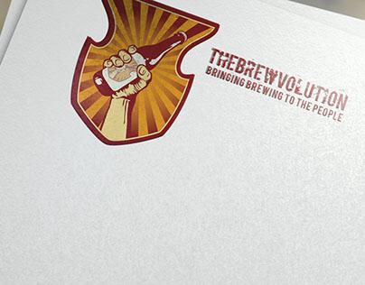The Brewvolution Logo Design