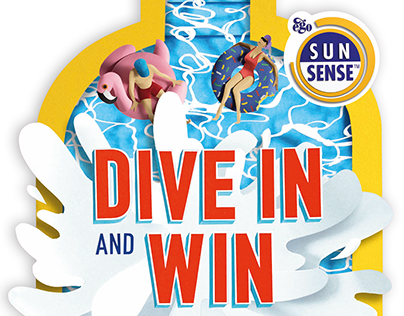 """""""Dive In"""" campaign and animation for Ego Sunsense"""