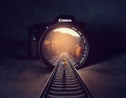 Manipulação de Imagem - Rails Inside Illution