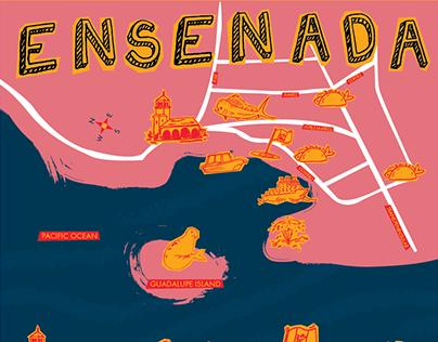 Ensenada Poster
