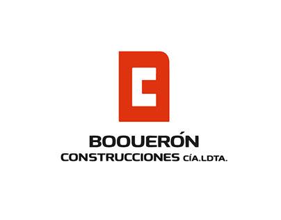Logotipo Boquerón Construciones