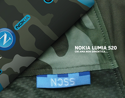 Nokia Lumia 520 SSC Napoli Limited Edition