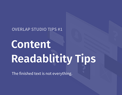 Content Readability Tips
