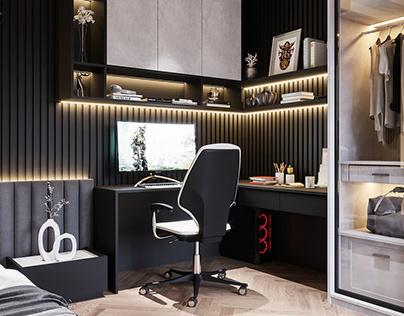 Modern Boy Room