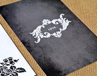 O/C Wedding Invitation Package